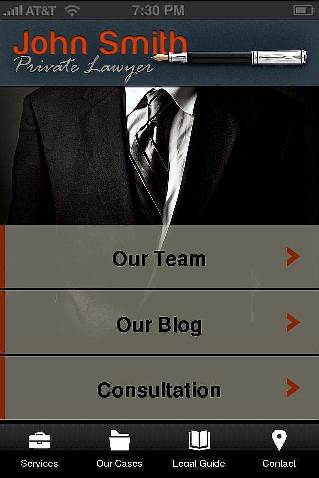 Lawyers 1 App Templates