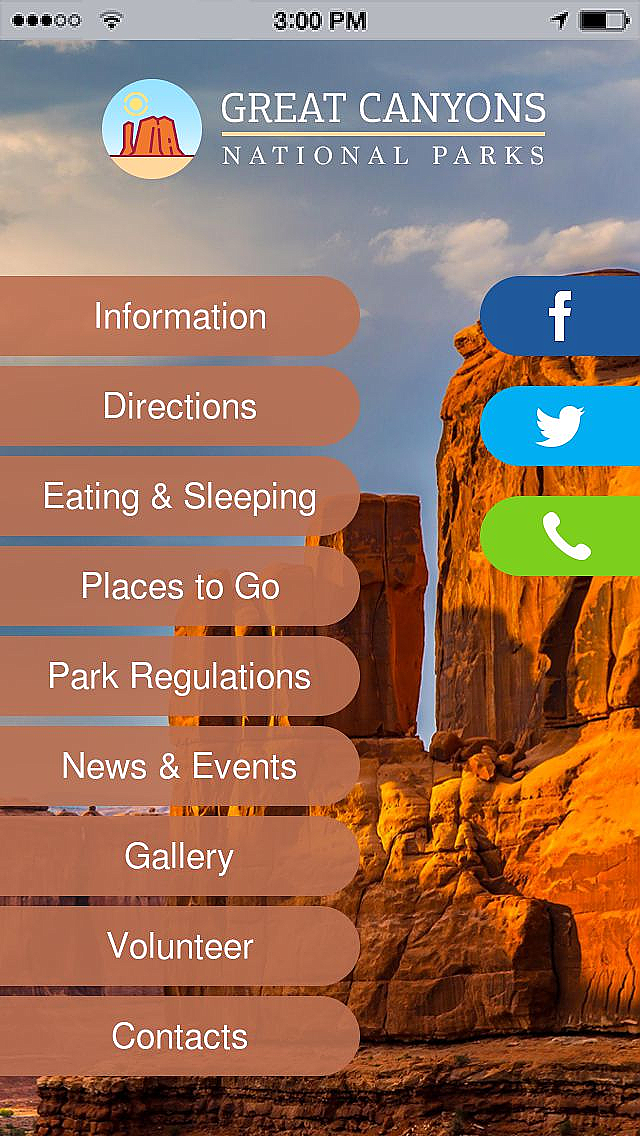 Grand Canyon National Park App Templates