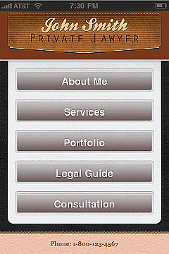 Lawyers 2 App Templates