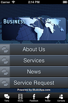 Small Business Services App Templates