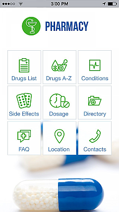 Pharmacy 2 App Templates