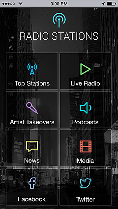 Internet Radio App Templates