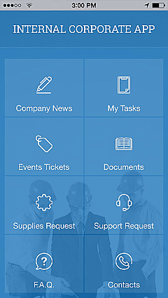 Internal Corporate App 2 App Templates