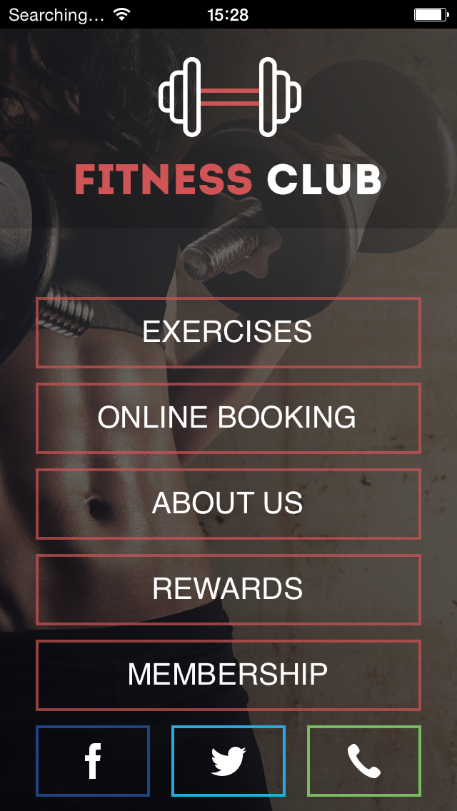 Fitness Club Apps